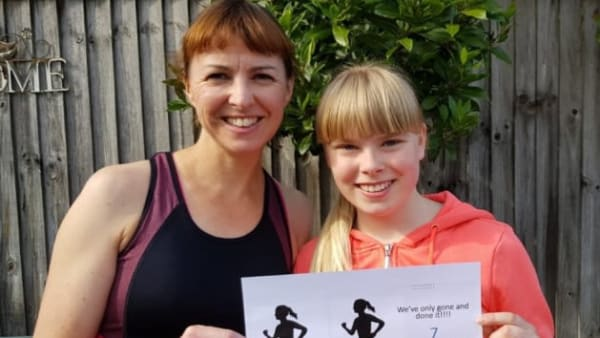 Lily Completes Marathon Fundraising Challenge