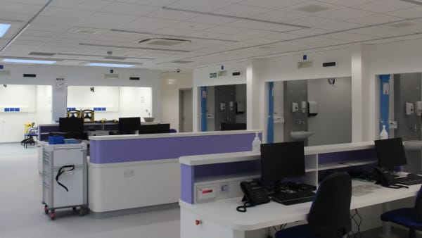 Expansion of James Paget University Hospital Emergency Department
